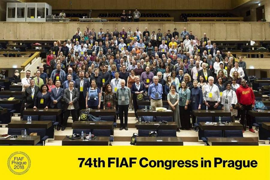 Jo attends FIAF in Prague!