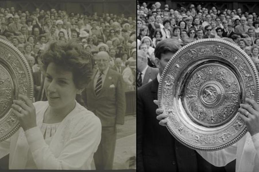 R3store Studios restores Wimbledon footage in collaboration with IMG and the AELTC